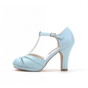 Very Cherry schoen blauw