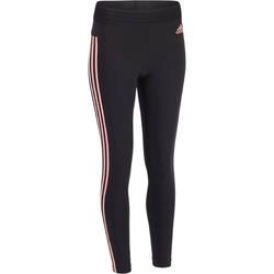 Dameslegging+Adidas+voor+gym+en+pilates+katoen+3+strepen+1322213