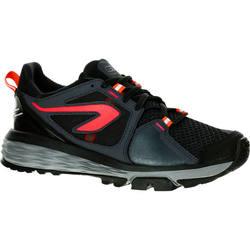 Hardloopschoenen+voor+dames+Run+Comfort+Grip+zwart+koraal+1266968