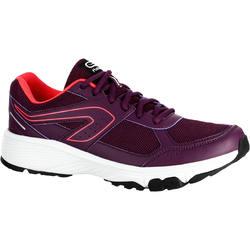 Hardloopschoenen+voor+dames+Run+Cushion+Grip+bordeaux+1252630