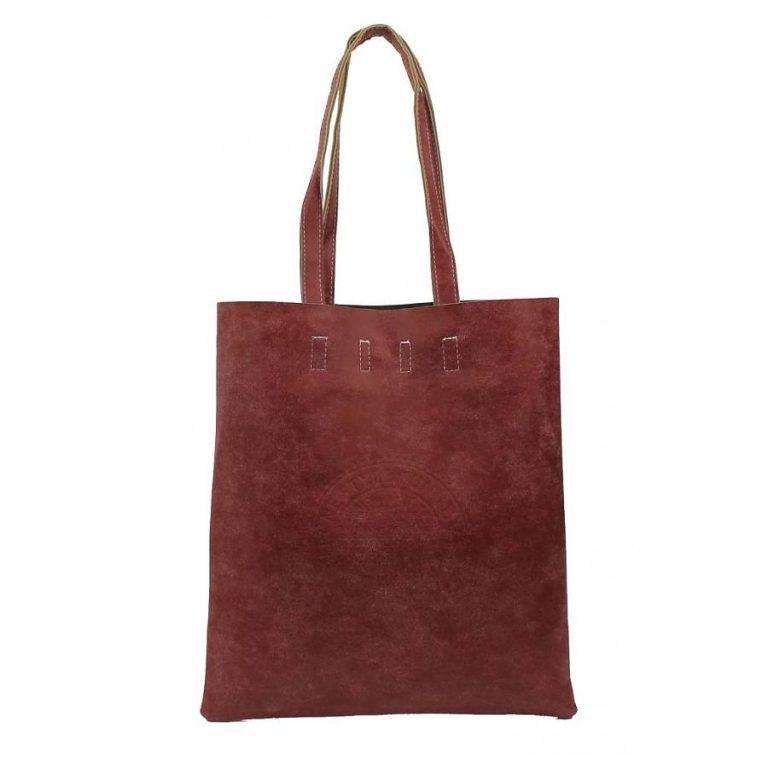 street-fashion-shopper-bordeaux-rood